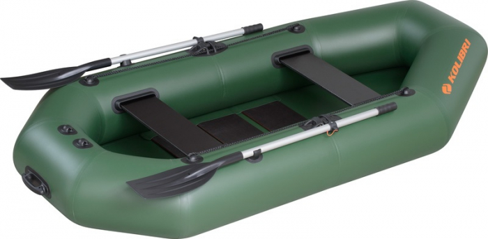 Barca Pneumatica KOLIBRI K-260T + podină pliabilă semirigidă [2]