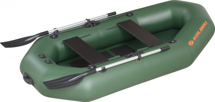 Barca Pneumatica KOLIBRI K-290T + podină pliabilă semirigidă [0]