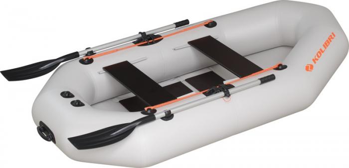 Barca Pneumatica KOLIBRI K-290T + podină pliabilă semirigidă 2