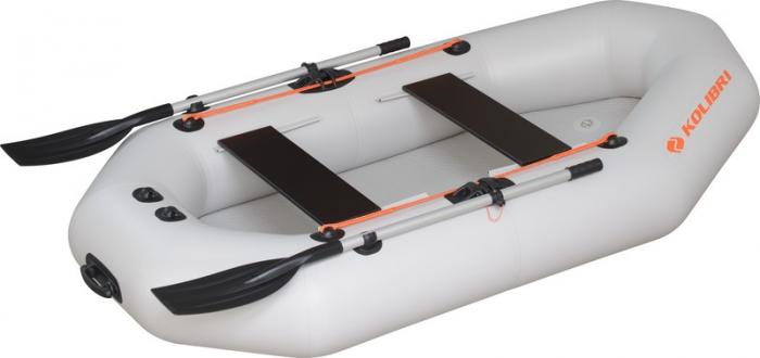 Barca Pneumatica KOLIBRI K-290T + podină pliabilă semirigidă 0