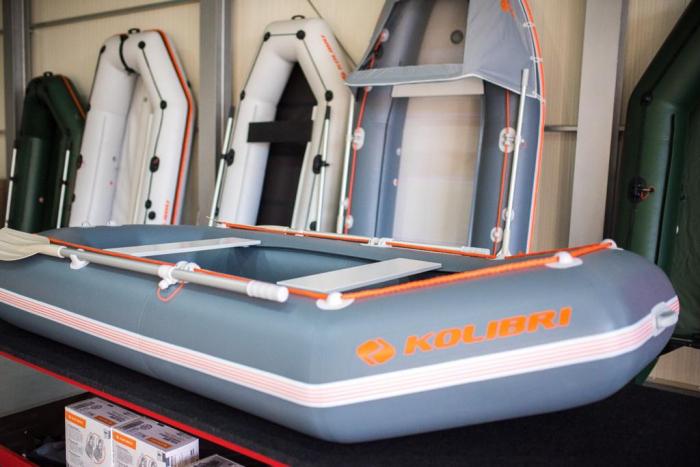 Barca Pneumatica KOLIBRI K-300CT + podină Tego [7]