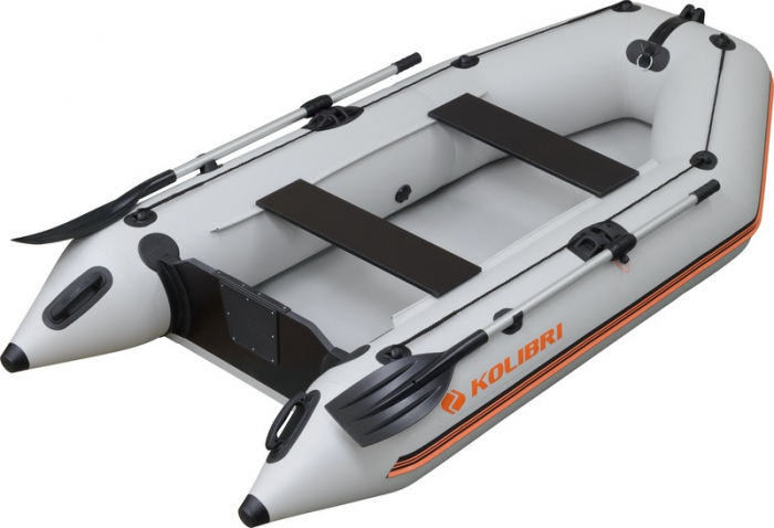 Barca Pneumatica KOLIBRI KM-245D + podină Tego 0