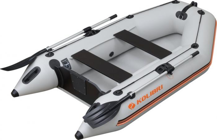 Barca Pneumatica KOLIBRI KM-260D + podină Tego 0