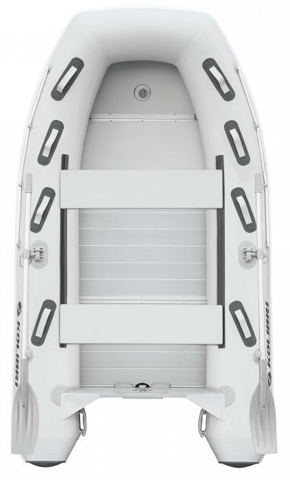 Barca KM-300DXL + podina de aluminiu 1