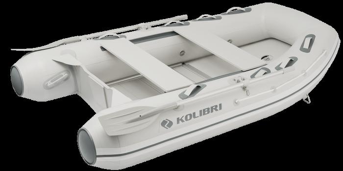Barca KM-300DXL + podina de aluminiu 0