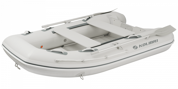 Barca KM-270DXL + podina de aluminiu 1