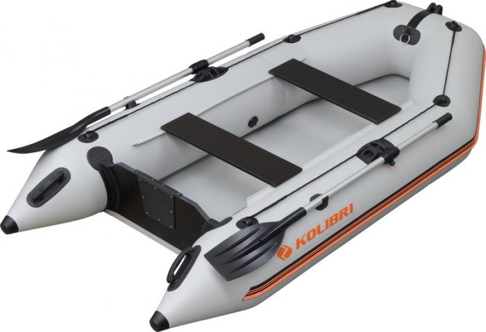 Barca Pneumatica KOLIBRI KM-280 + podină pliabilă semirigidă cu extindere [0]