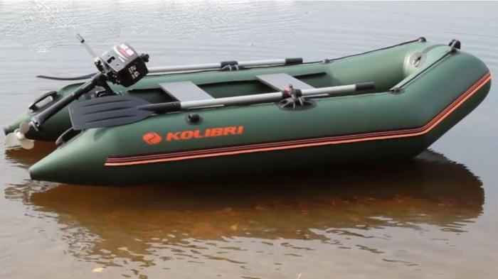 Barca Pneumatica KOLIBRI KM-280 + podină Tego 6