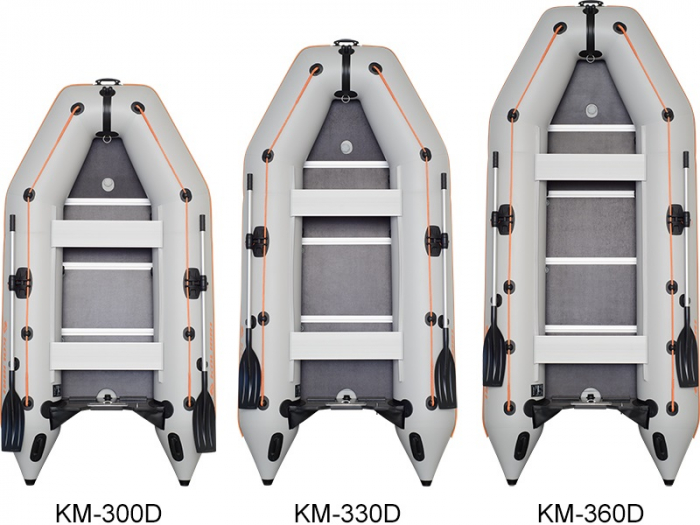 Barca Pneumatica KOLIBRI KM-280D + podină Tego [5]