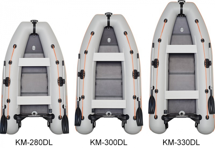Barca Pneumatica KOLIBRI KM-280DL + podină Tego [10]