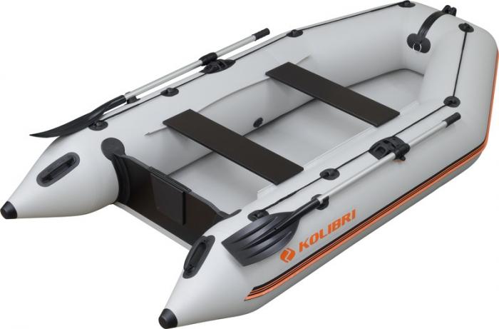 Barca Pneumatica KOLIBRI KM-300 + podină pliabilă semirigidă cu extindere [0]