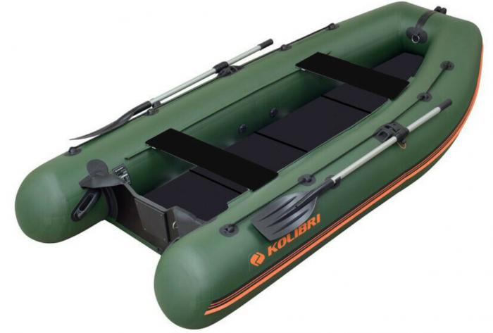 Barca Pneumatica KOLIBRI KM-300DL + podină Tego 0