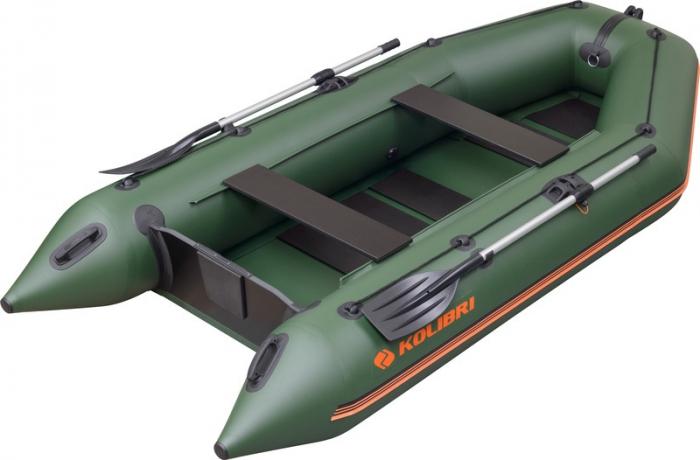 Barca Pneumatica KOLIBRI KM-330 + podină pliabilă semirigidă cu extindere 0