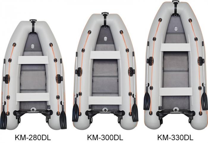 Barca Pneumatica KOLIBRI KM-330DL + podină Tego 3