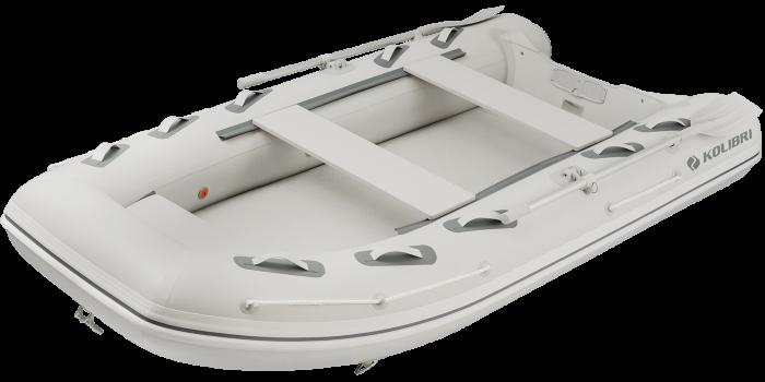 Barca KM-330DXL + podina de aluminiu 1