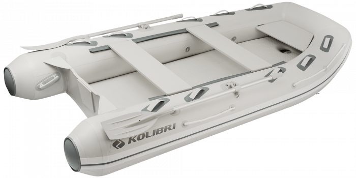 Barca KM-330DXL + podina de aluminiu 0