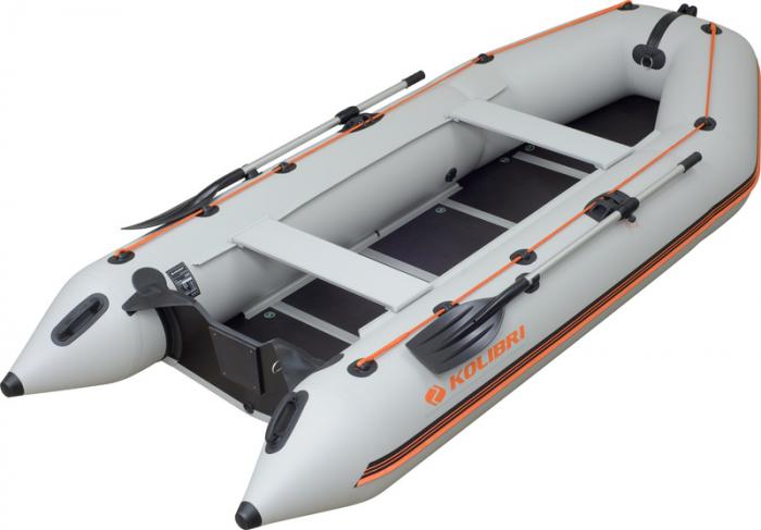 Barca Pneumatica KOLIBRI KM-360D + podina regidă tego, întarită cu profil de aluminiu [0]