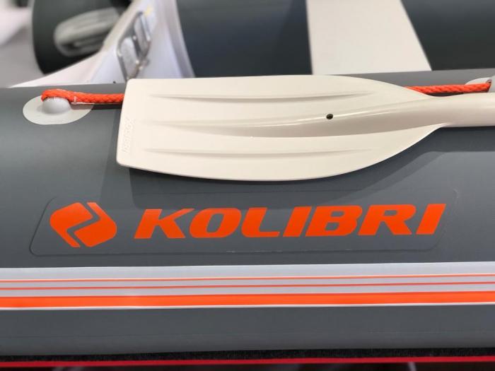 Barca KM-360D + podină de aluminiu 10