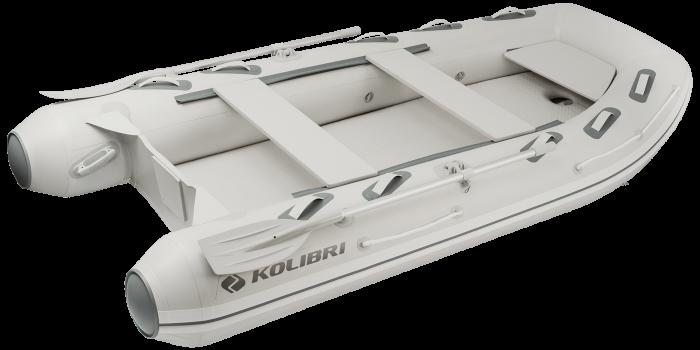 Barca KM-360DXL + podina de aluminiu 0