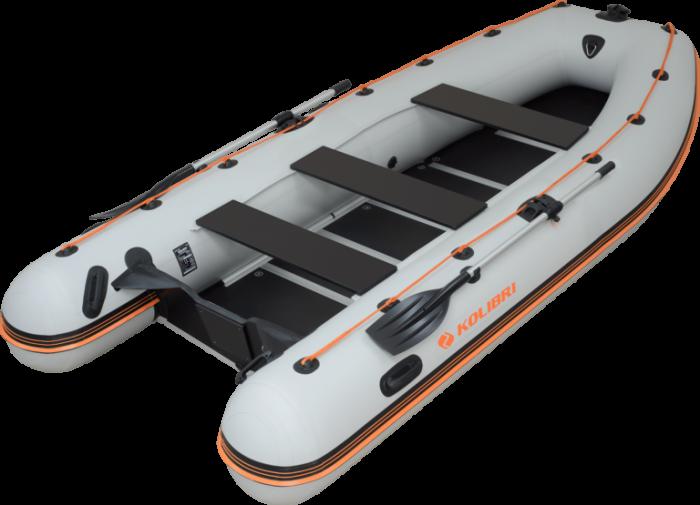 Barca KM-400DSL + podina de aluminiu [2]