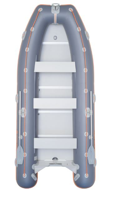 Barca KM-400DSL + podina de aluminiu 0