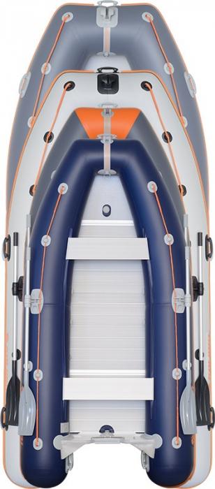 Barca Pneumatica KOLIBRI KM-450DSL + podina regidă tego, întarită cu profil de aluminiu 2