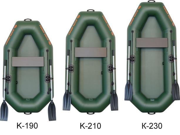 Barca Pneumatica KOLIBRI K-190 + podină pliabilă semirigidă 6
