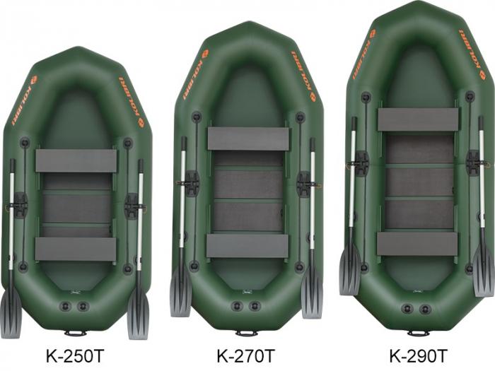 Barca Pneumatica KOLIBRI K-290T + podină pliabilă semirigidă 4