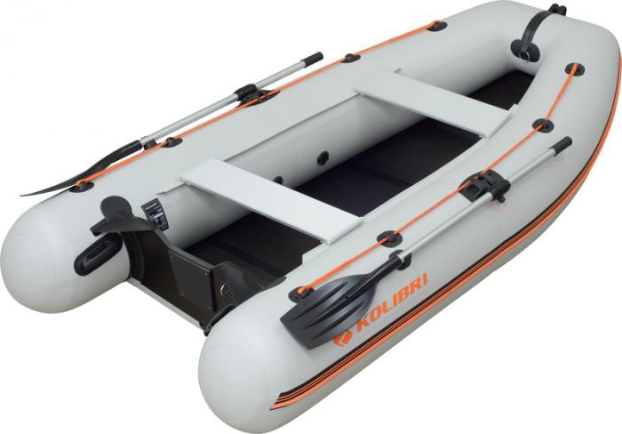 Barca Pneumatica KOLIBRI KM-300DL + podină Tego 1