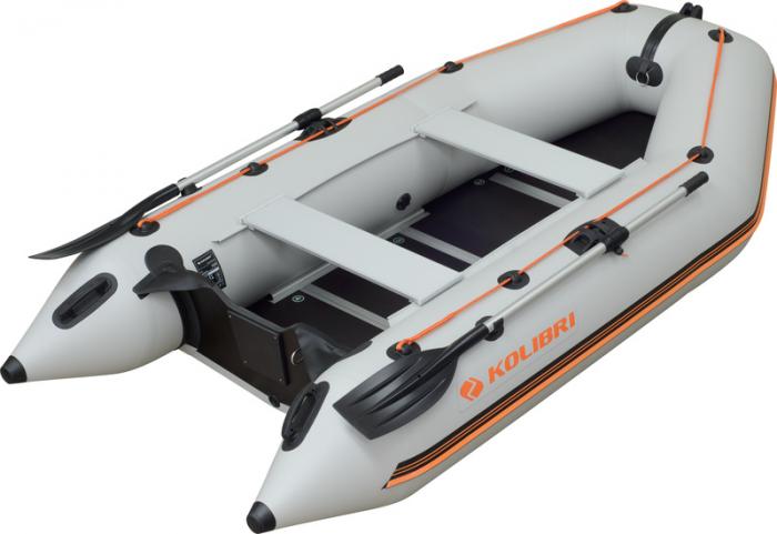 Barca Pneumatica KOLIBRI KM-300D + podina rigidă tego, întarită cu profil de aluminiu [0]