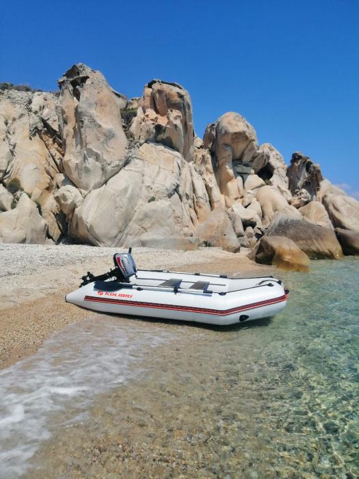 Barca Pneumatica KOLIBRI KM-300D + podina rigidă tego, întarită cu profil de aluminiu [7]