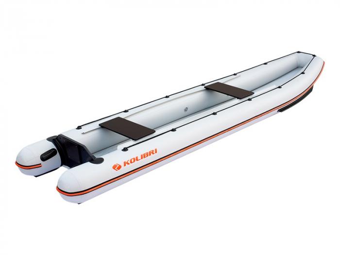 Canoe KM-460C + podină Air-Deck 1