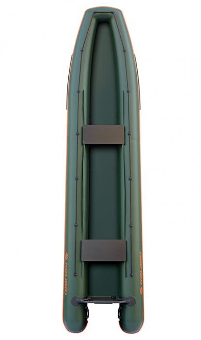 Canoe KM-460C + podină pliabilă semirigidă 0