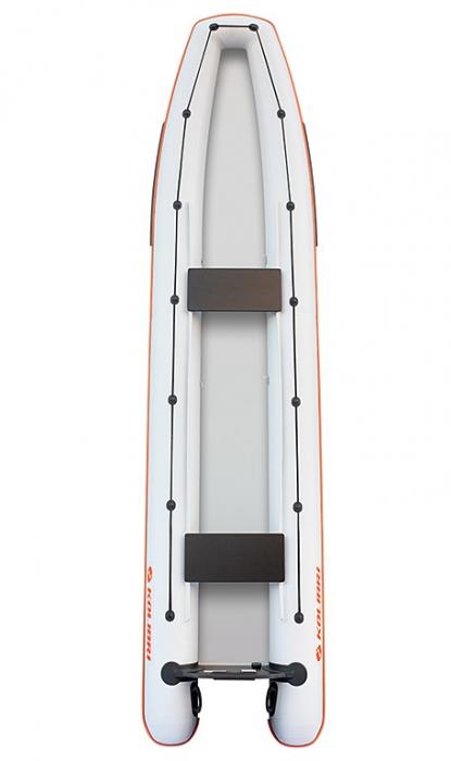 Canoe KM-460C + podină pliabilă semirigidă 4