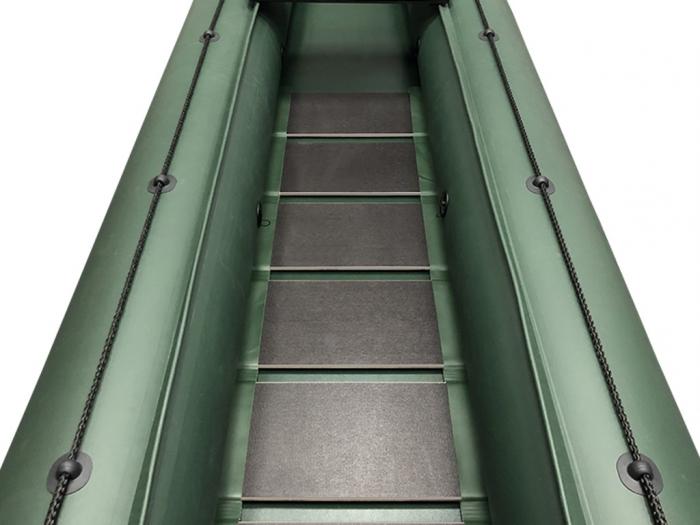 Canoe KM-460C + podină pliabilă semirigidă 1