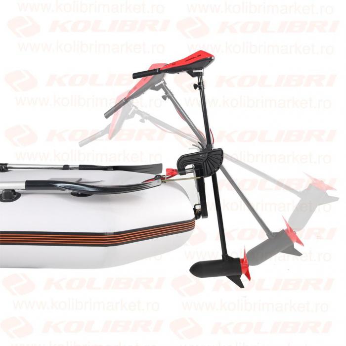 Motor electric barca Energo Team Sential red 66lbs 0