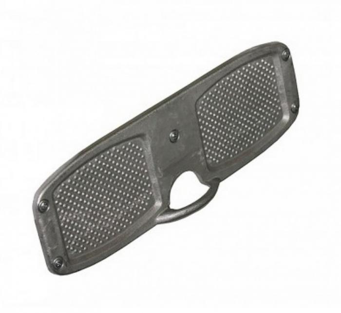 Protectie oglinda motor din metal, accesorii barca pneumatica. [0]