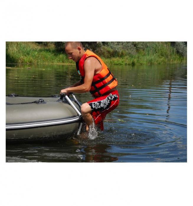 Scara aluminiu pliabila pentru barcă gonflabila FASTen BORIKA FL032 [6]