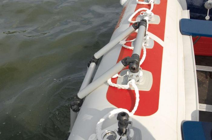 Scara aluminiu pliabila pentru barcă gonflabila FASTen BORIKA FLp032 + set Fmp225 [9]