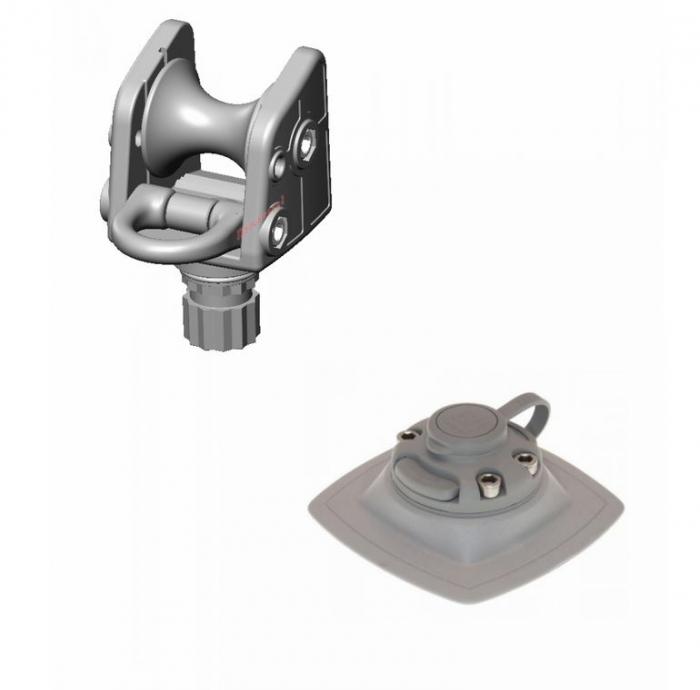 Suport rola cu un inel ancorare cu mecanism de înclinare FASTen BORIKA ARRp002 + baza FMb [0]