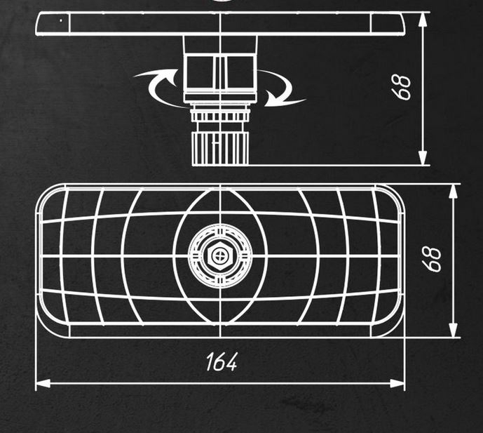 """Suport sonar FASTen BORIKA Ss223 7""""-9"""" [4]"""