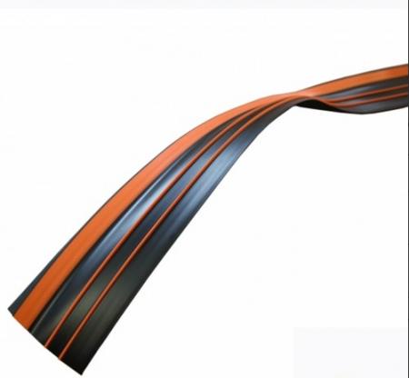 Banda antival 70 mm negru/portocaliu1