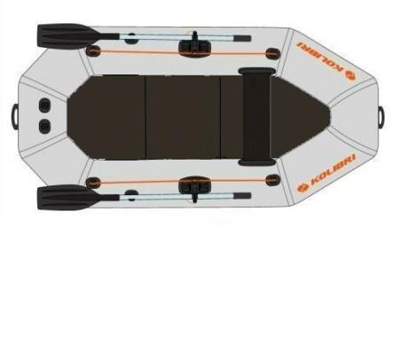 Barca Pneumatica KOLIBRI K-220T + podină Tego [9]