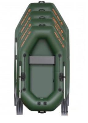 Barca K-220TS + podină pliabilă semirigidă2