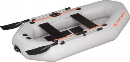 Barca K-290T + podină pliabilă semirigidă2