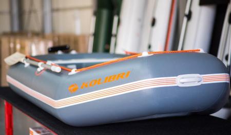 Barca K-300CTS + podină Air-Deck4