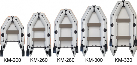 Barca KM-245 + podină Tego5