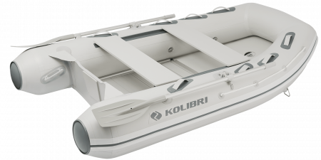 Barca KM-300DXL + podina de aluminiu0