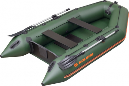 Barca KM-280 + podină Air-Deck0
