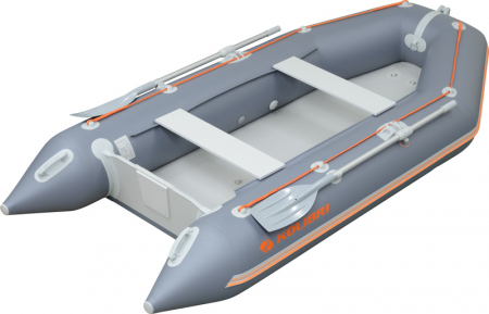 Barca KM-300 + podină Air-Deck1